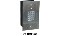 Flush Mount Keypad With LED